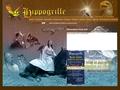 Hippogriffe fauconnerie,spectacle fauconnerie en vol libre équestre