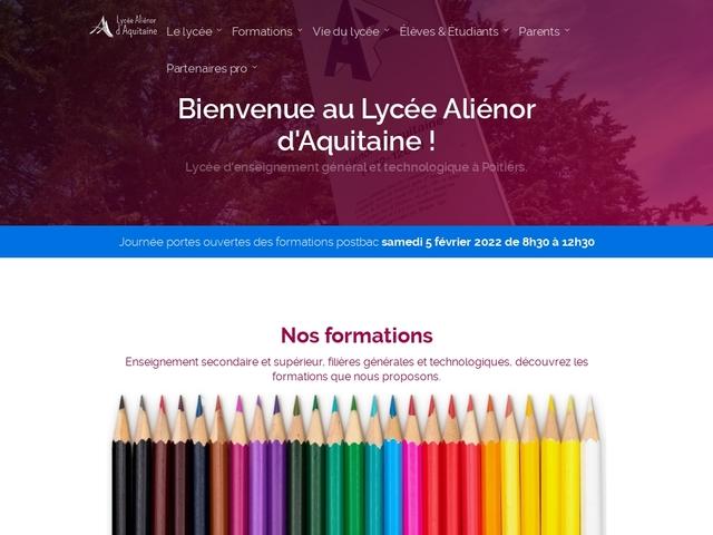 Lycée Aliénor d'Aquitaine (Poitiers)