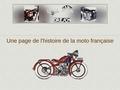Les Motos Dresch