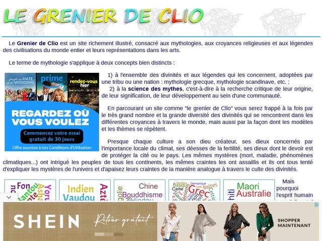 Le grenier de Clio (Mythologica)