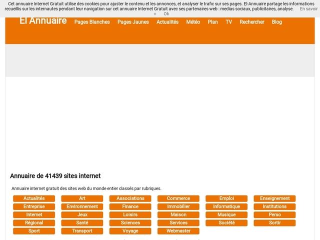 El-Annuaire - annuaire internet gratuit de sites web