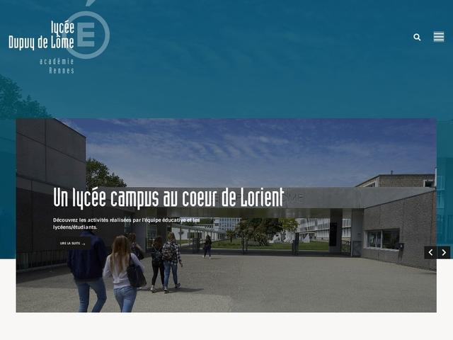 Lycée Dupuy de Lome (Lorient)
