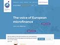 Réseau Européen de la Microfinance - Accueil