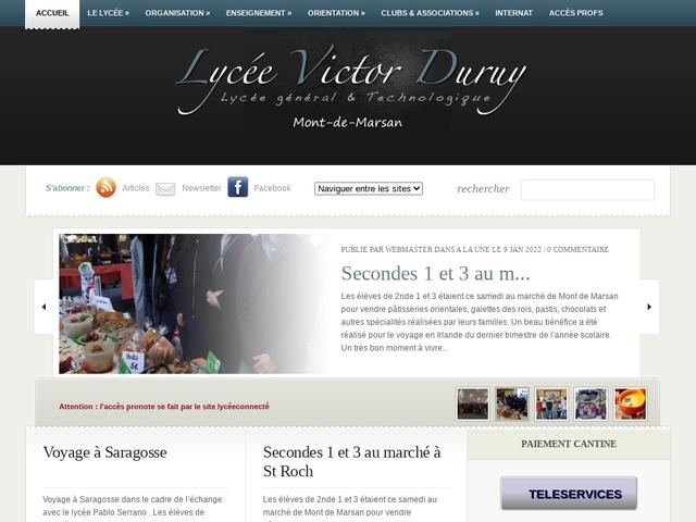 Lycée Victor Duruy (Mont de Marsan)