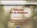 Art et musique - Editeur de musique classique et religieuse