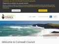 Housing Benefit/Council Tax (Cornwall Council)