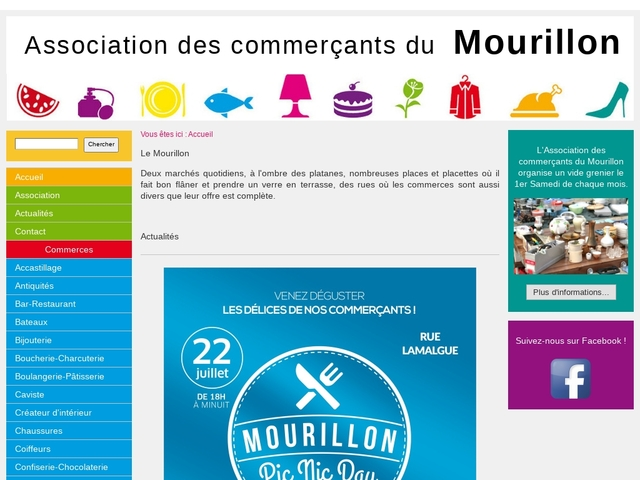 Commerce à Toulon - Association des Commerçants du Mourillon - Accueil