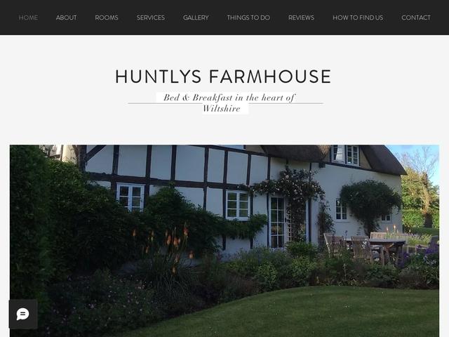 Huntlys Farmhouse B&B - Pewsey - Wiltshire - England
