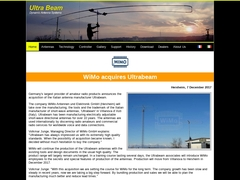 Welcome to our new UltraBeam site