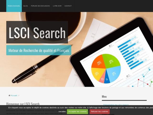 Le moteur de recherche Français.. - LSCI Search