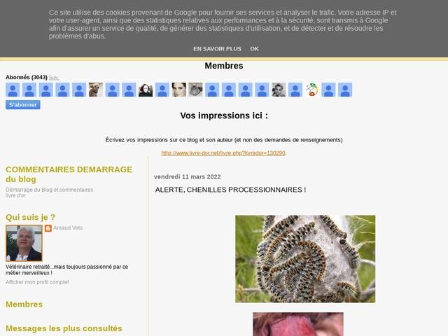 Blog Arnaud Veto