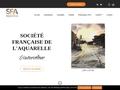 Société Française de l'Aquarelle | L'art de l'eau