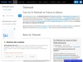 www.telemarcoeur.com portail du telemark