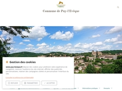 Puy-l'Evêque village médiéval