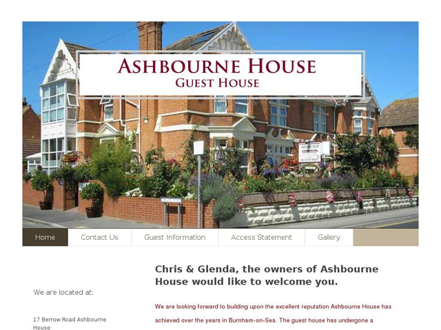 Ashbourne House - Burnham-on-Sea.