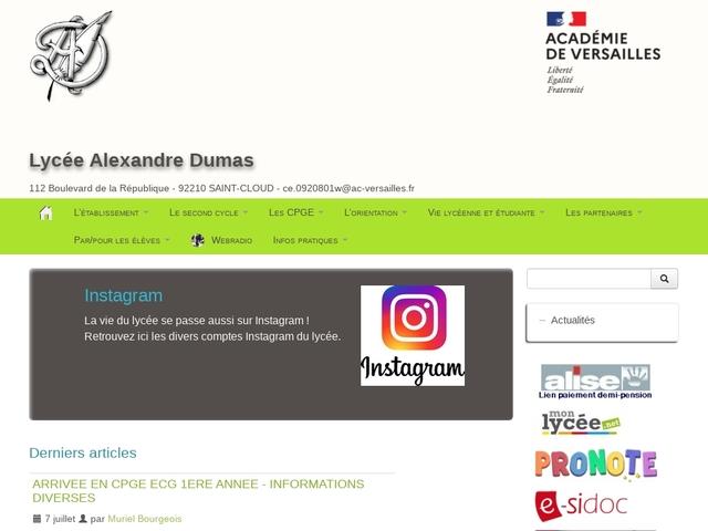 Lycée Alexandre Dumas (Saint Cloud)