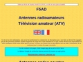 F5AD t?vision ATV antennes licence radioamateur