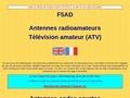 F5AD télévision ATV antennes licence radioamateur