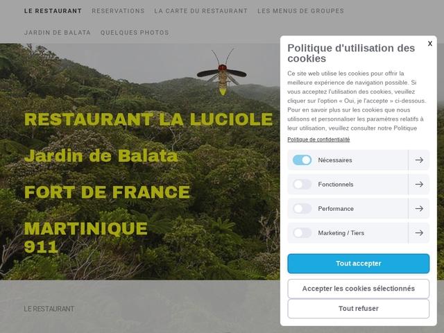 La Luciole Restaurant Martinique Fort-de-France