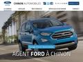 Garage à Chinon (37) et agent Ford propose véhicules neufs et occasion