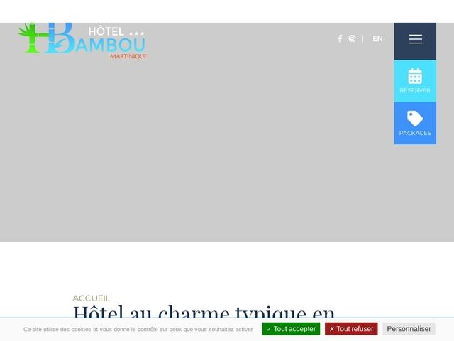 Bambou Hotel Trois Ilets Martinique