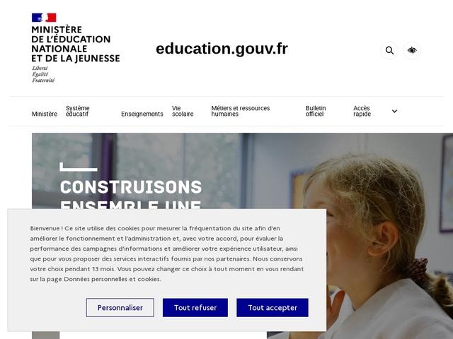 Ministère de l'Éducation nationale...