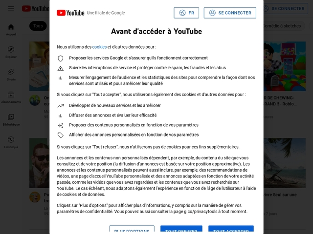 YouTube Partage International Canada