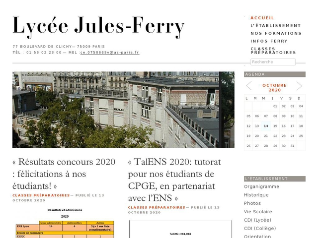 Lycée Jules Ferry (Paris, 9ème arrondissement)