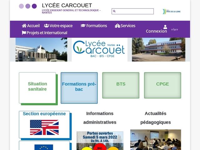 Lycée Carcouët (Nantes)