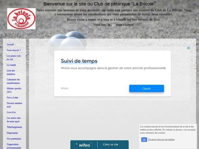 Site internet du Club de La Bricole