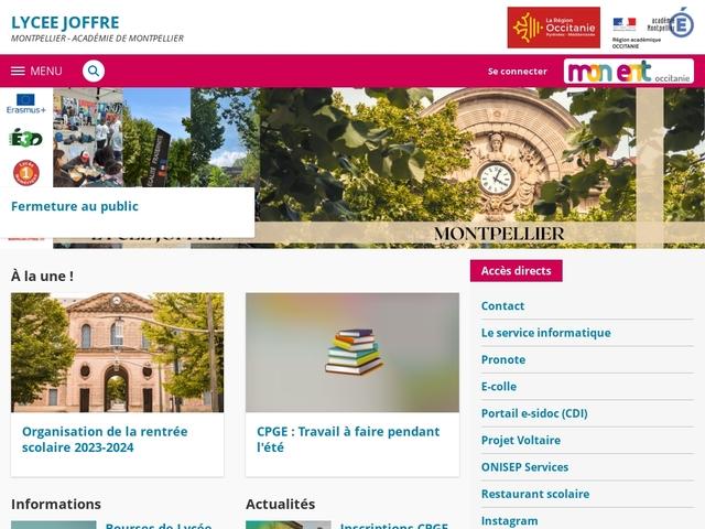 Lycée Joffre (Montpellier)