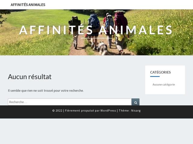 Affinités Animales