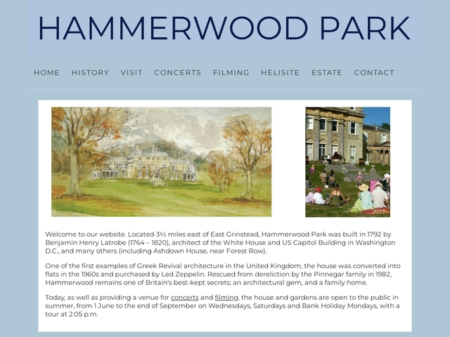 HAMMERWOOD PARK, EAST GRINSTEAD, EAST SUSSEX, RH193QE