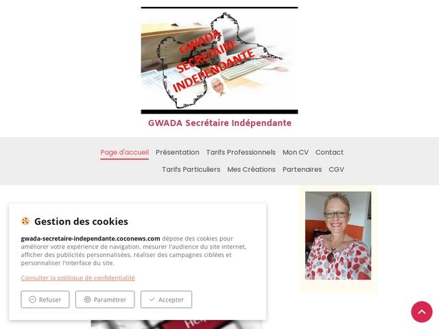 ANSE BERTRAND - GWADA secrétaire indépendante
