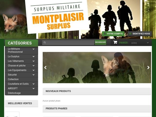 Montplaisir surplus