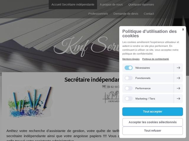 AUBERVILLIERS - KMF secrétaire indépendante  - télésecrétaire