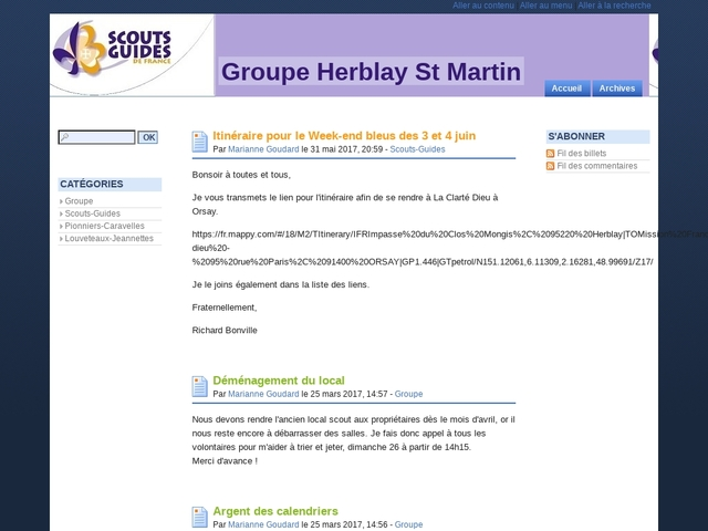 Groupe Herblay St Martin - Blog