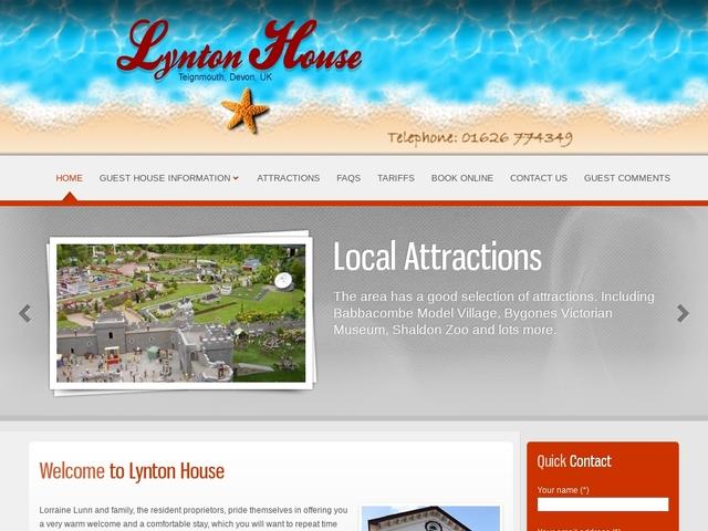Lynton House - Teignmouth - Devon - England.