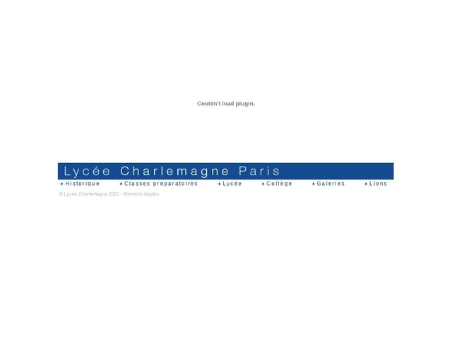Lycée Charlemagne (Paris, 4ème arrondissement)