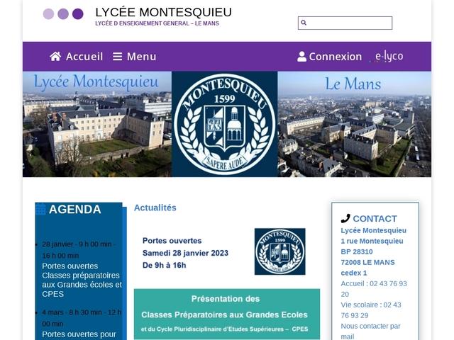 Lycée Montesquieu (Le Mans)