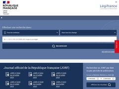 Accueil | Légifrance, le service public de l'accès au droit