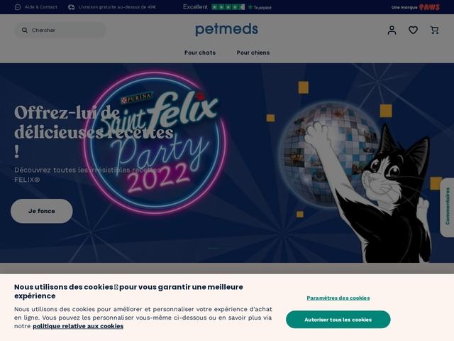 Produits pour animal Petmeds