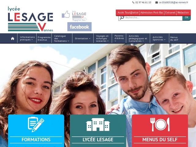 Lycée Lesage (Vannes)