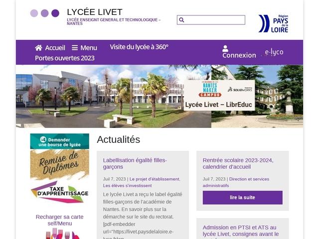 Lycée Eugène Livet (Nantes)
