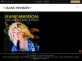 Jeane Manson - Site officiel