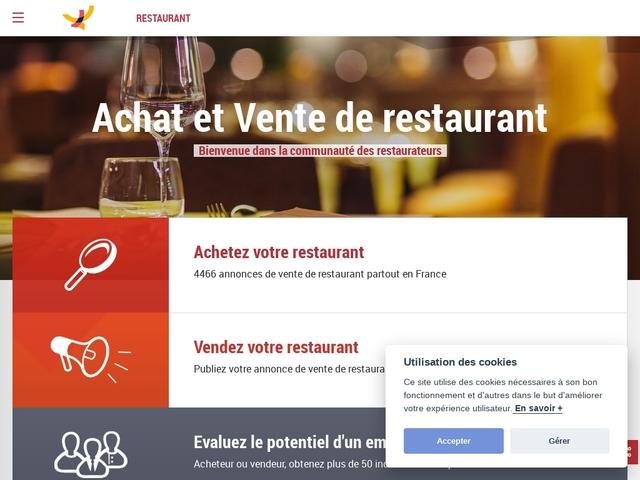 Restaurants à vendre