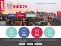 Mairie de SALERS - Cantal ~ Ville de Salers (accueil)