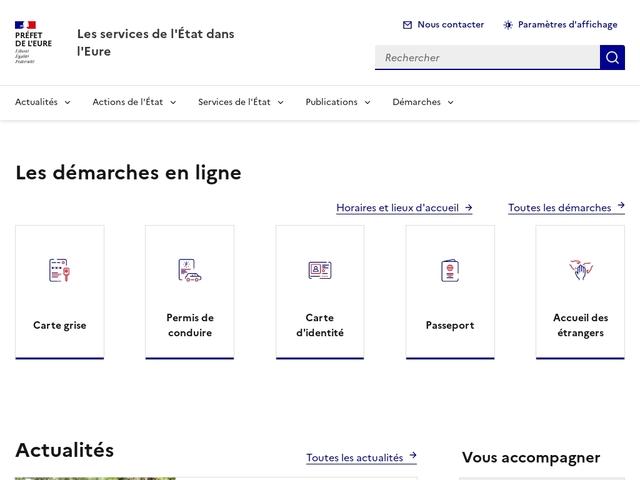 Accueil - Les services de l'État dans l'Eure