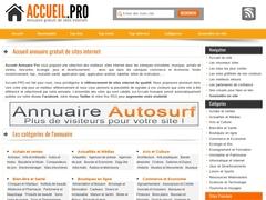 Accueil Annuaire Pro