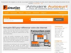 Faire un lien vers votre site internet
